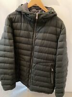 RARE MONCLER MENS DARK GREY PADDED JACKET Size:5