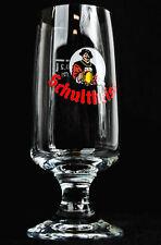 "Schultheiss Lager, Bier, Bierglas, Tulpenglas ""Colani Design"" 0,2l, sehr alt"