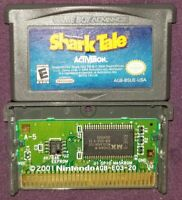 Shark Tale (Nintendo Game Boy Advance, 2004) GBA Gameboy