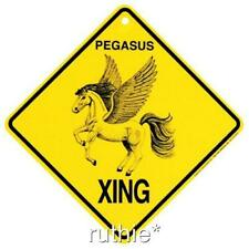 Pegasus Crossing Xing Sign New Made in the Usa