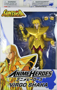 Anime Heroes ~ VIRGO SHAKA Action Figure ~ Saint Seiya: Knights of the Zodiac