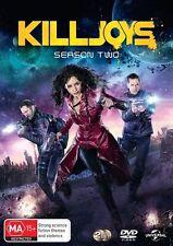Killjoys : Season 2 (DVD, 2-Disc Set) NEW