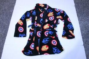 Youth Avengers M (10/12) Bath Robe (Black) Marvel