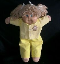 VINTAGE LONG BLONDE CABBAGE PATCH KIDS BABY DOLL GIRL STUFFED ANIMAL PLUSH TOY