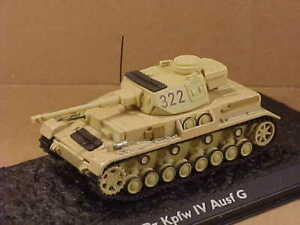 ATLAS #4660131 1/72 Sd.kfz.161 Panzer IV Ausf G Medium Tank, German Afrika Korps