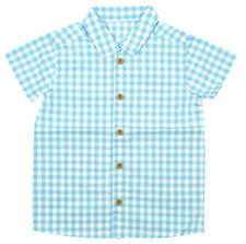 Vêtements à motif Carreaux pour garçon de 2 à 16 ans en 100% coton
