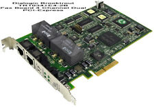 Dialogic Brooktrout TR1034+E4-2B Fax Board 4 Channel Dual PCI-Express 901-012-05