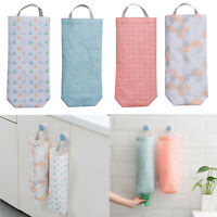 Plastic Bag Holder Dispenser Hanger Storage Bags Garbage Trash Organizer Kitchen