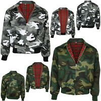 Relco Camouflage Harrington Jacket Skin Mod Scooter Urban Woodland Rare