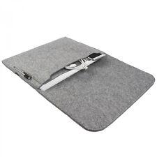 Hülle für Dell XPS 13 Notebook Schutz Tasche Case Cover Sleeve Filz hell grau