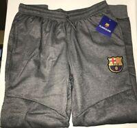 Mens NWT FCB FC Barcelona Barca M Elastic Waist Stretch Jogger Sweats Sweatpants