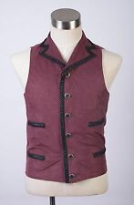11th Dr.Purple Waistcoat Vest Halloween Cosplay Costume Custom Made