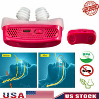 Hot Electric MiniCPAP Anti Snoring Device for Sleep Apnea Stop Snore Aid Stopper