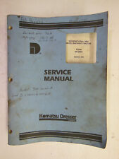 International 280A Wheel Backhoe Tractor SERVICE MANUAL 1981