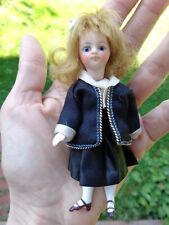 Antike Puppe Mignonette geschlossener Mund French mignonette c1890