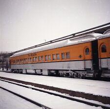 DRGW Rio Grande Passenger Car #1011 - Original Color Railroad Negative