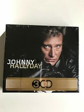 Coffret Best Of 3 CD Johnny Hallyday NEUF SOUS BLISTER