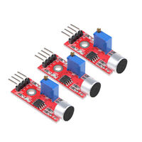 Microphone Sound Sensor Voice Detection Module w Digital and Analog Output 3pcs