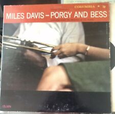 Miles Davis - Porgy And Bess LP VG+ CL 1274 Mono Red 6i 1958 Vinyl Record
