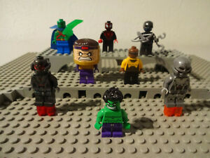 (B9/8) Lego Super Heroes Marvel Mini Figurines Selection Of Used KG