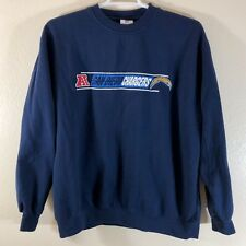 San Diego Chargers Men's Crewneck Sweatshirt XL NFL Team Apparel