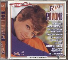 RITA PAVONE - Vol. 2 - PROTAGONISTI - CD 1999 COME NUOVO / AS NEW