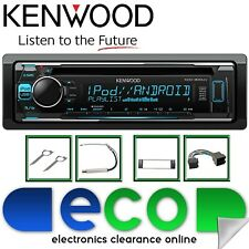 AUDI A6 2000-2001 4B KENWOOD CD MP3 USB AUX Display Multi Colore KIT STEREO AUTO