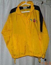 Bimini Bay Penn Reels International Men's Fishing Jacket hood zip front yellow M