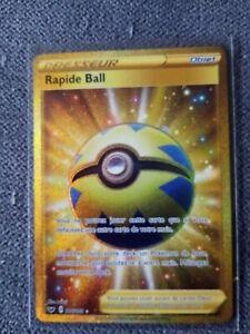 Carte Pokémon Rapide Ball 216/202 EB01 VF/Secret Rare gold Full Art secret neuve