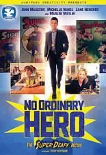 DVD: No Ordinary Hero: The Superdeafy Movie, Troy Kotsur. Good Cond.: Emjay Anth