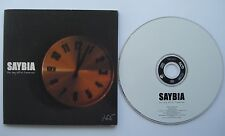 SAYBIA  __  The Day After Tomorrow  __  1 Track PROMO CD  __  FOR COLLECTORS !!!