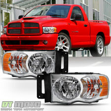 2002 2003 2004 2005 Dodge Ram 1500 2500 3500 Headlights Aftermarket Left+Right