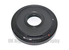 LMA-FD_EOS Lens Adapter for Canon FD Mount & Macro Accessory on Canon EOS Body