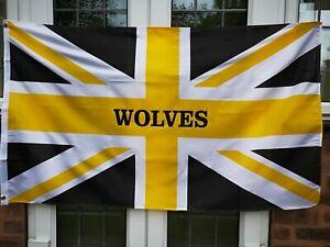 Wolves Flag 5 X 3 Feet