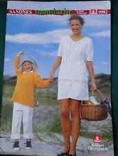 Sandnes Uldvarefabrik knitting pattern booklet; volume 9902