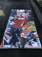 Rolling Stones Mick Jagger Banner Album Sticky Fingers Reissue Release 4' x 8'