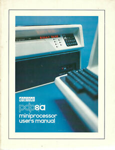 Digital // pdp8/a Miniprocessor Users Manual