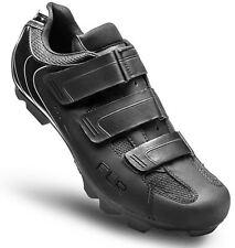 FLR F-55.III MTB Bike Cycling Shoe in Matt Black - Size 45 2 Bolt System