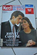 revue PARIS MATCH N° 2350 -juin 1994 - JOHN ET CAROLINE KENNEDY