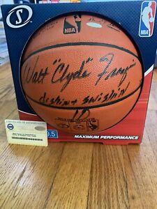 Walt Frazier Signed Auto #/50 Dishin & Swishin Steiner Autograph Knicks Ball