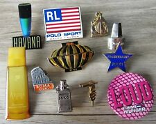 11 x Parfum Pin / Pins: 11 verschiedene edle Pins - Set F  - Schnäppchen!!!