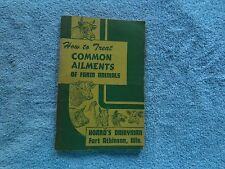 HOARDS DAIRYMAN FORT ATKINSON,WIS. COMMON AILMENTS OF FARM ANIMALS BOOK
