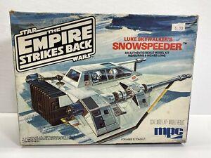 MPC Star Wars Empire Strikes Back Luke Skywalker's Snowspeeder Vintage Model Kit