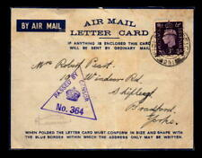 1942 British Mef Apo 291 Censor Cover / Front Only - L5411