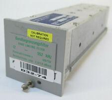 Wandel & Goltermann Band Limiting Filter 12 - 552 kHz - 120/132 - 12/552 8534/50