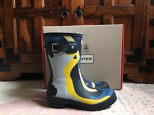Hunter Nori Rockpool Camo Wellies Size 5UK BNWB
