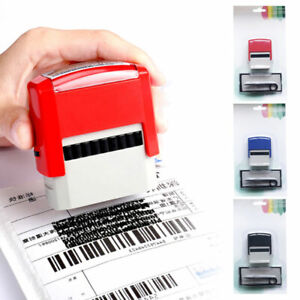 DIY Rubber Stamp Kit Self Inking Business Address Garage Name - You Personalise