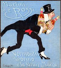 P. Codognato - MARTINI & ROSSI VINO VERMOUTH TORINO è la Gran Marca -Frak 1915