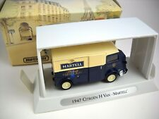"MATCHBOX Models of Yesteryear 1947 Citroen Type H Van ""MARTELL"" Original Box"