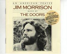 CD JIM MORRISONan american prayerEX+ MUSIC BY THE DOORS  (A2818)